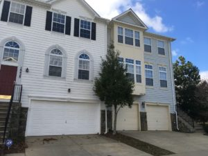 Barnsley Manor Estates townhomes in Olney, Maryland