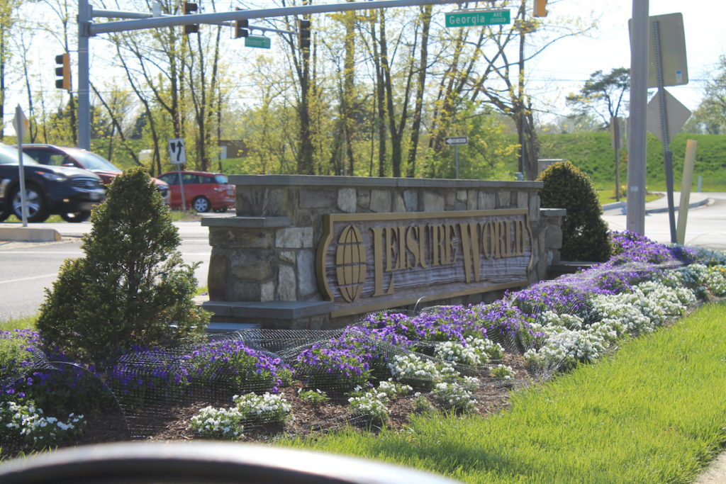 Welcome to Leisure World in Silver Spring, Maryland