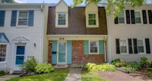 Regent Square townhomes in Rockville, Maryland
